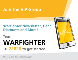 text2join WARFIGHTER